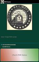 Screenshot of PNR Status