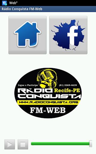 Rádio Conquista FM-Web