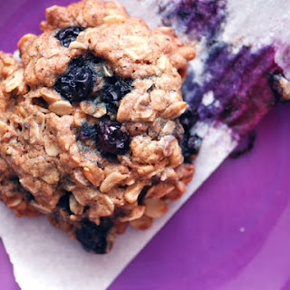 Blueberry Oatmeal Grape-Nuts Cookies
