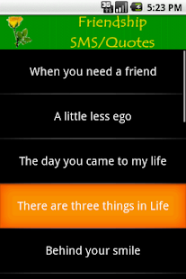 Friendship SMS - screenshot thumbnail