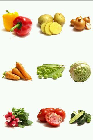 Poznávám zeleninu