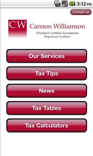 Cannon Williamson TaxApp