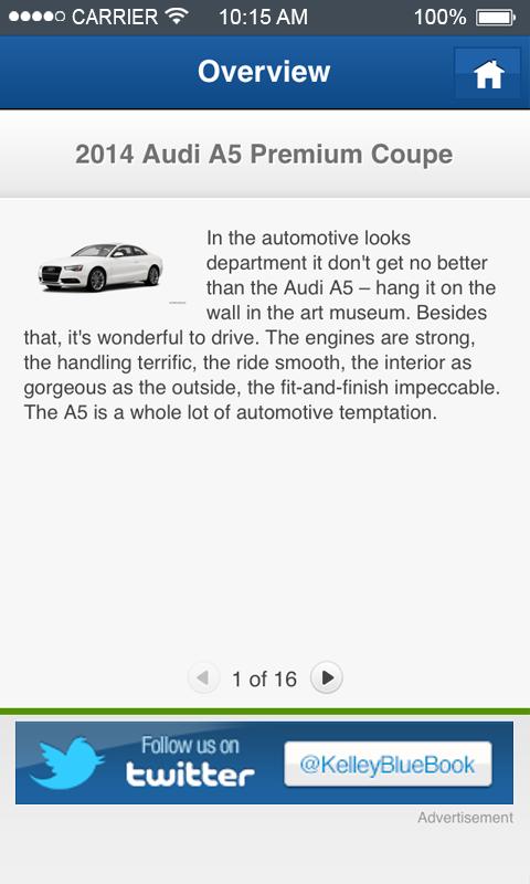 KBB com Car Prices & Reviews - Revenue & Download estimates - Google