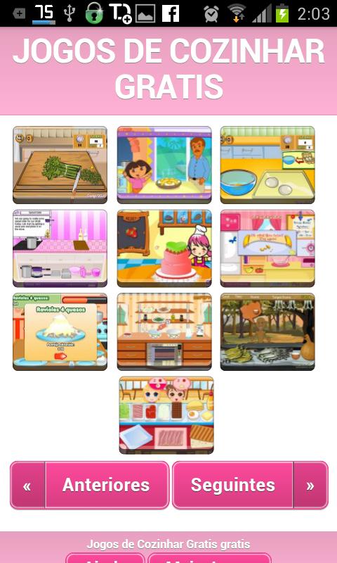 Jogos de Cozinhar Gratis - screenshot