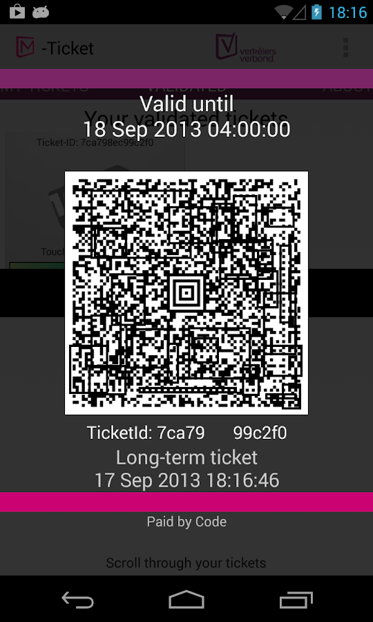 M-Ticket- screenshot