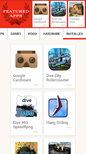 DODOcase VR App Store (beta)- screenshot thumbnail