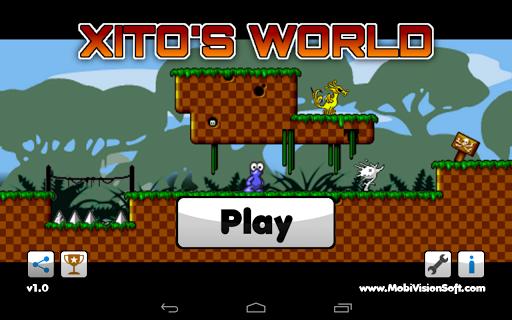 Xitos World - Jump and Run