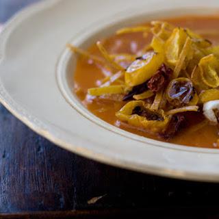 Vegetarian Tortilla Soup.