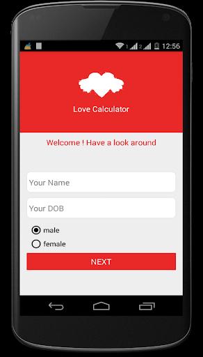 Love App- Love Calculator
