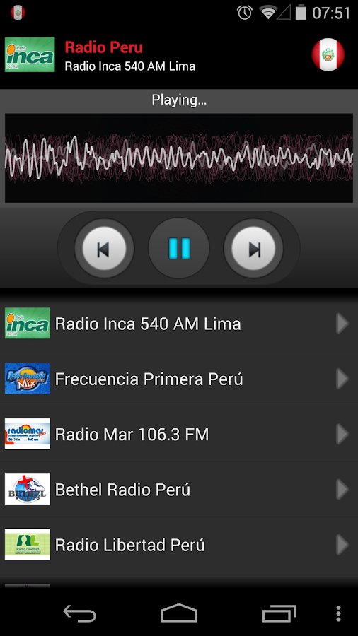 RADIO PERU- screenshot