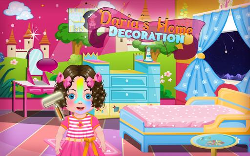 Kids Game: Daria Home Decorate