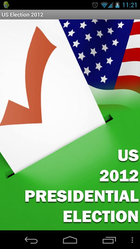 US 2012 Presidential Election - screenshot