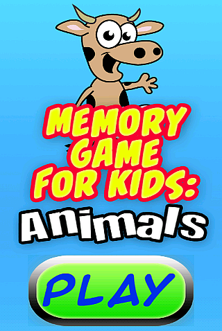 Memory Game for Kids: Animals