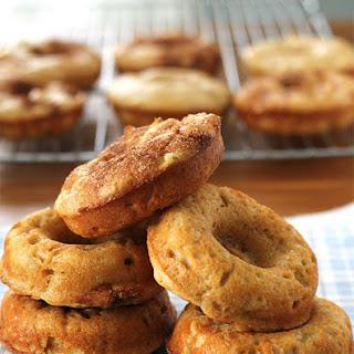 Baked Apple-Cinnamon Doughnuts