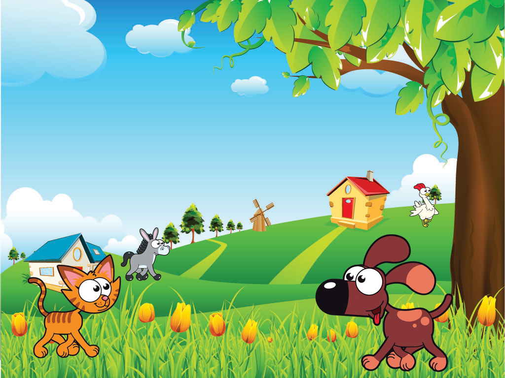 Farm animals for kids hd lite android apps on google play for Actividades para jardin infantil