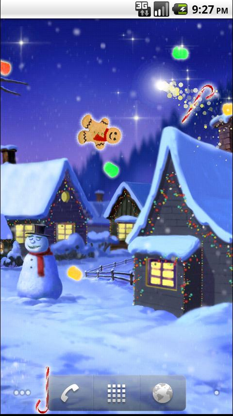 Sweet Winter Dreams Wallpaper - screenshot
