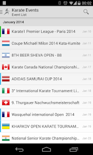 Karate Events- screenshot thumbnail