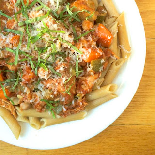 Slow Cooker Italian Chicken and Vegetable Ragu