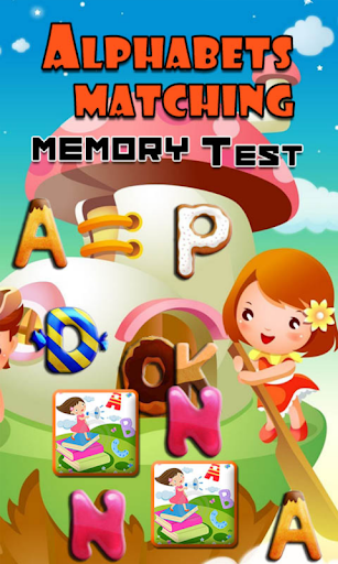 Alphabets Matching Memory Test