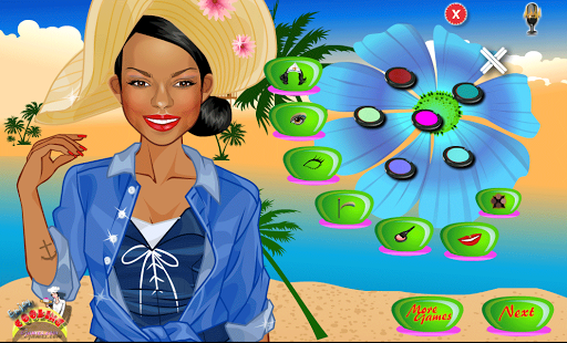 Beach Girl Dress up - screenshot thumbnail