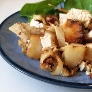 Chicken Apple Stir-Fry.