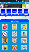 Screenshot of Premier League Info