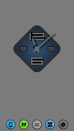 Blue Slate Zooper Widget Pack