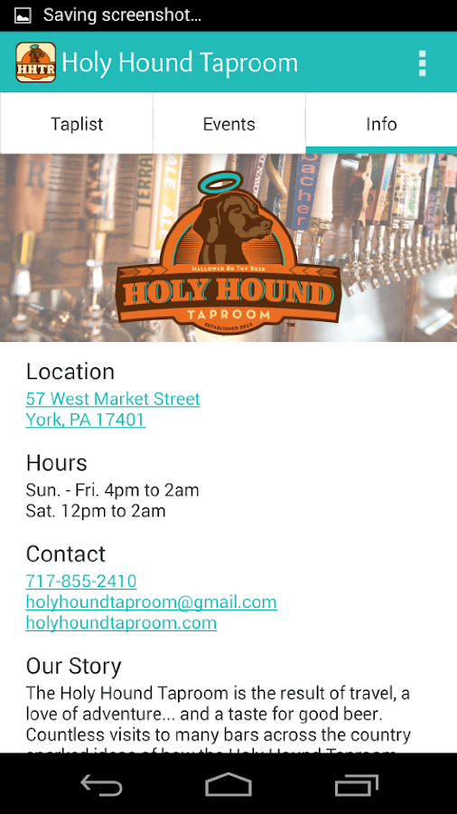 Holy Hound Taproom- screenshot