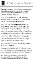 Screenshot of DUA VE ZİKİR