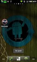 Screenshot of BeeQuiet