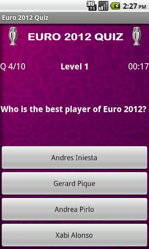 玩體育競技App|Euro 2012 Quiz免費|APP試玩
