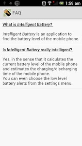 Intelligent Battery screenshot 4