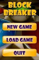 Screenshot of Block Breaker (Ads)