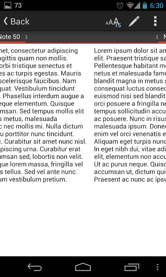 Note+ Notes - screenshot