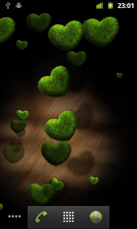 Hearts Live Wallpaper FREE - screenshot