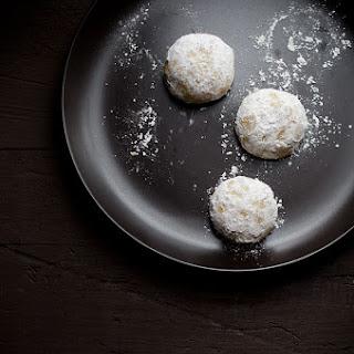 Chai Spiced Pistachio Snowdrop Cookies