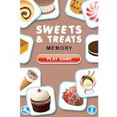Sweets and Treats Memory Game