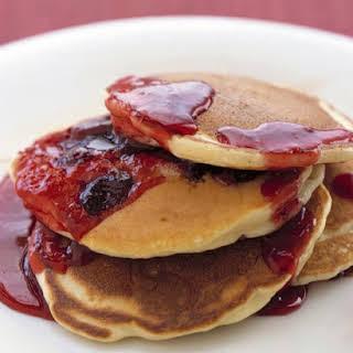 Cranberry Pancakes.