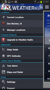 13Now Severe Weather - screenshot thumbnail