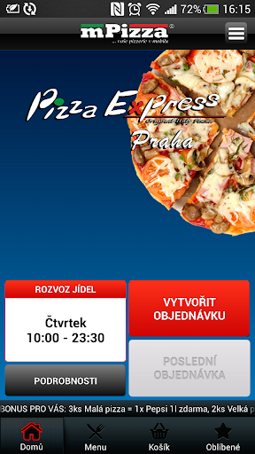 Pizza Express Praha