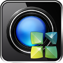 Next Launcher Theme Black 3D icon