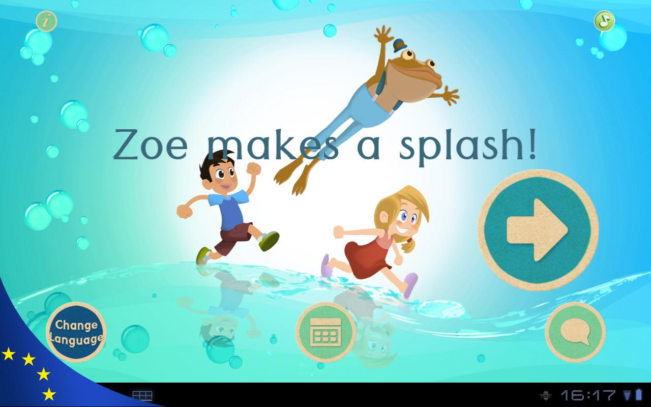 Zoe makes a splash! - screenshot