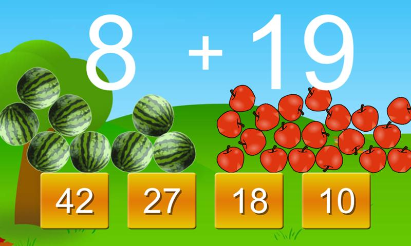 First Grade Learning Games - screenshot