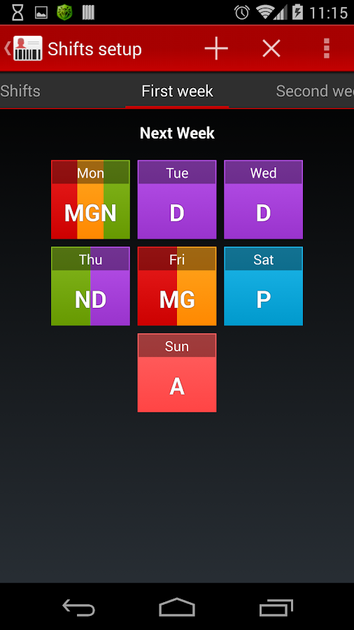 Badge - screenshot