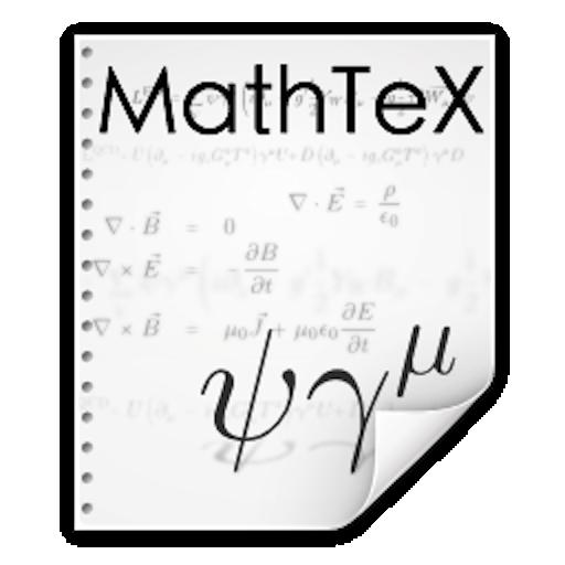MathTeX: LaTeX Mathematics 生產應用 App LOGO-APP試玩