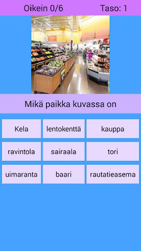 Sanoja suomeksi