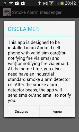 Smoke Alarm Messenger