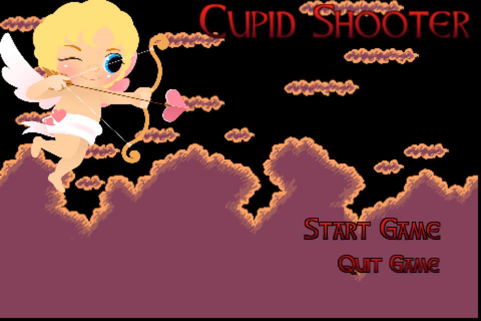 Cupid Shooter Droid App Game- screenshot