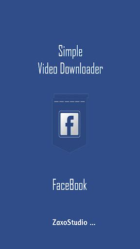 【免費社交App】FaceBook Video Download-APP點子