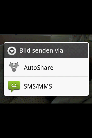 AutoShare - screenshot